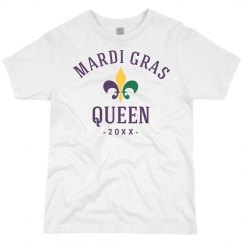 Custom Date Mardi Gras Queen