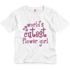 Worlds Cutest Flower Girl