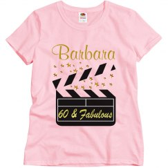 PERSONALIZED 60TH MOVIE STAR