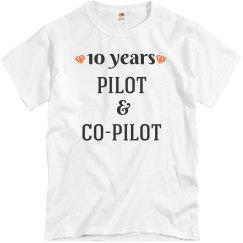 10th anniversary pilot & co-pilot