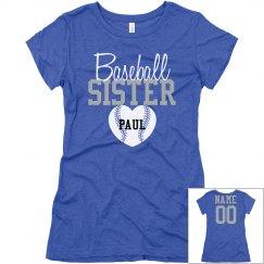 Baseball Sister Shirt