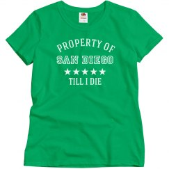 Property of San Diego