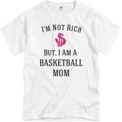 I'm a basketball mom