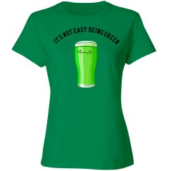 It's not easy being green drink