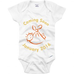 Coming soon onsie