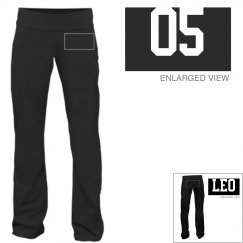 Leo Sporty Zodiac Yoga Pants
