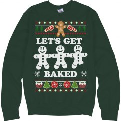 Getting Baked Xmas Sweater