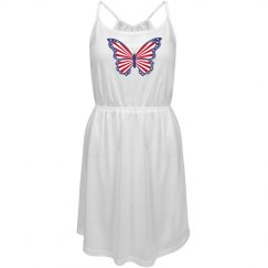 Patriotic Butterfly Dress