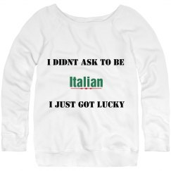 Italian got Lucky
