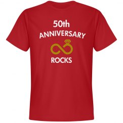 50th anniversary rocks