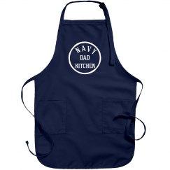 Navy dad kitchen