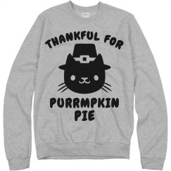 Purrmpkin Pie Cat Feast