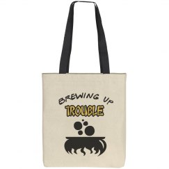 Brewing Up Trouble Halloween Tote Bag