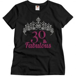 30th Birthday - Crown