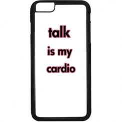 talk is my cardio princess case