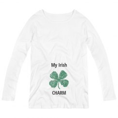 My Irish Charm Maternity Top