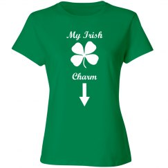 My Irish Charm Maternity Tshirt