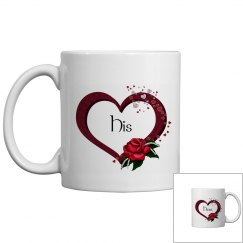 Hearts and Rose Mug