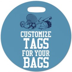 Customize Sports Bag Tags