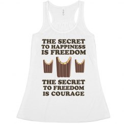 The Secret to Freedom is Courage