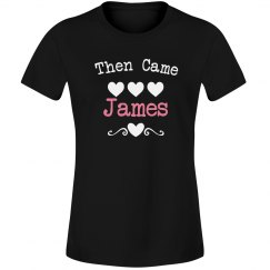 Then came james
