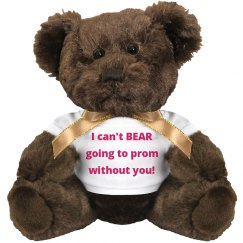 Stuffed Animal Bear Prom