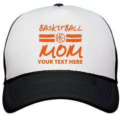 Basketball Mom Custom Trucker Hat