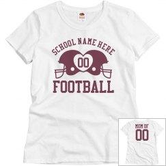 Cute Budget Priced Custom Football Mom Shirts