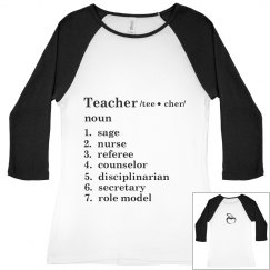 Teacher Definition Tee