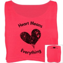 Heart means everything
