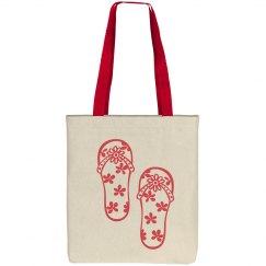 Flip Flops Tote Bag