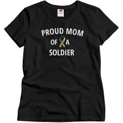 Proud soldiers mom