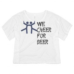 we cheer for beer womans