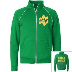 Cheer coach track jacket
