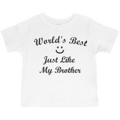 World's best like brother