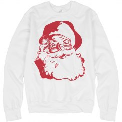 Vintage Santa Sweater