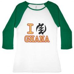 I Heart Ghana Adinkra Tee