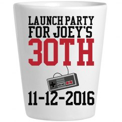 Launch Party Shot Glasses
