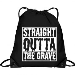 Funny Halloween Straight Outta Cinch Bag