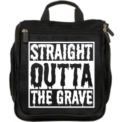 Straight Outta The Grave Makeup Bag
