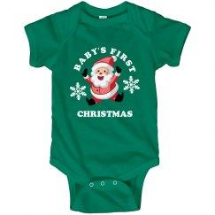 Baby Loves Santa