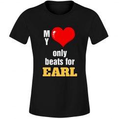 Heart beats for Earl
