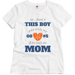Basketball Mom's Heart
