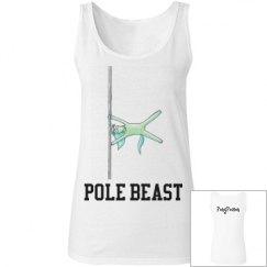 """Pole Beast"" Ladies Tank Top"