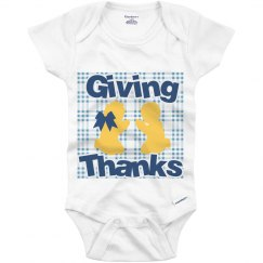 Giving Thanks Onesie