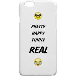 Pretty Happy Funny Real Case