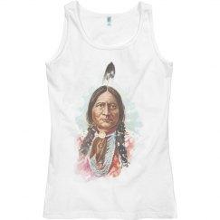 Hunkpapa Sioux Chief: Sitting Bull Tank Top
