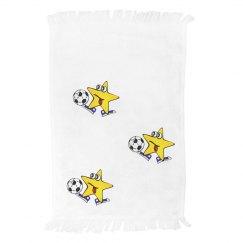 Crazy Football Towel