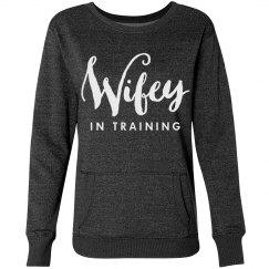 Glitter Wifey Sweatshirt