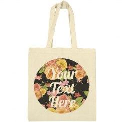 Custom Floral Bag